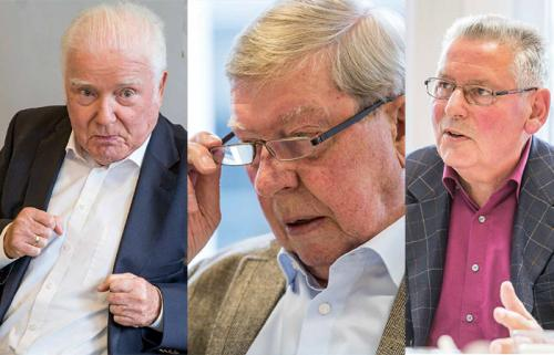 Georg Herwegh, Dr. Manfred Wegner und Dr. Martin Theisohn. Fotos: Benjamin Horn